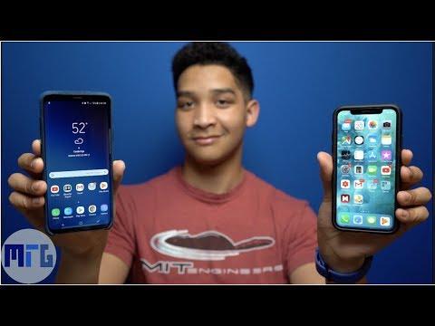 Galaxy S9 Plus vs  iPhone X:  Full Comparison | Best Phone of 2018?