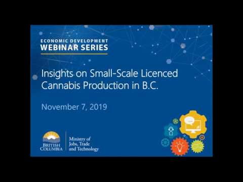 Insights On Small-Scale Licenced Cannabis Production In BC