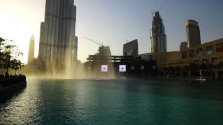Dubai 2015 - Dubai Fountain - Sama Dubai / The Prayer / Ishtar Poetry