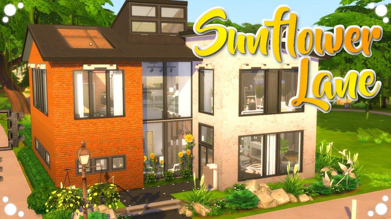 🌻SUNFLOWER LANE || Rebuild Willow Creek || The Sims 4 ...