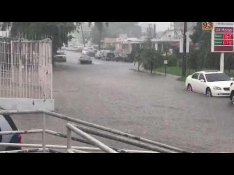 Inundaciones en área metro en Puerto Rico 2017