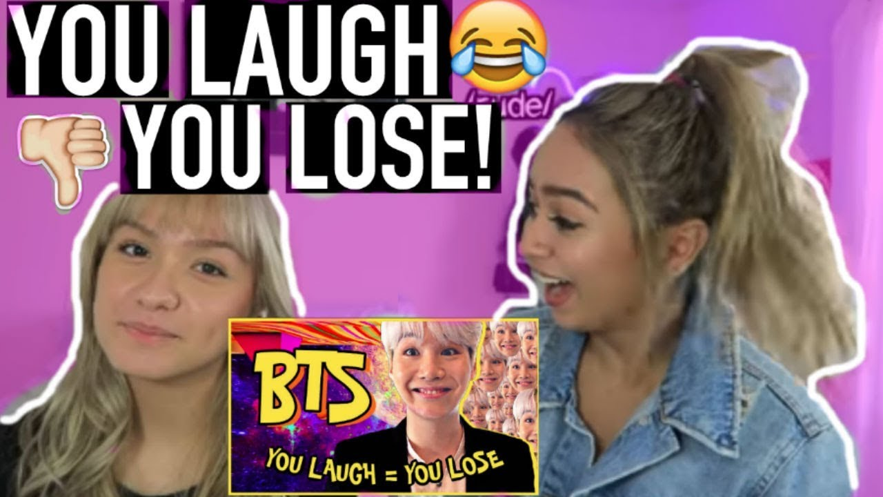 BTS 'You Laugh = You Lose' Challenge [HARD] | BTS REACTION