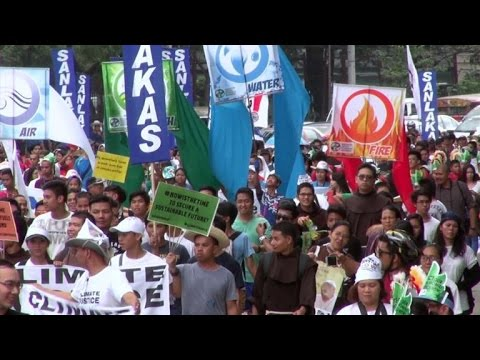 Clamor mundial por medidas contra el cambio climático