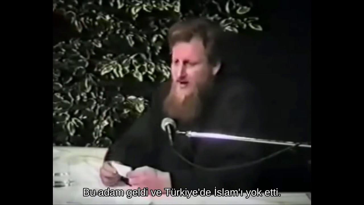 (Mustafa Kemal) Atatürk Yahudiydi Ve Ahlaksız Pis Bir Kafirdi