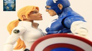 """Marvel Legends Captain America: Civil War """"Red Onslaught BAF"""" Sharon Carter Figure Review"""