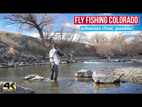 Winter Fly Fishing At The Arkansas River Tailwaters In Pueblo Colorado