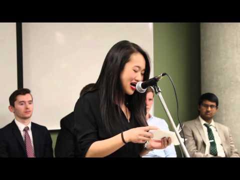 ASA Candidates Forum Winter 2016: VP Student Life Candidate Christine Tran