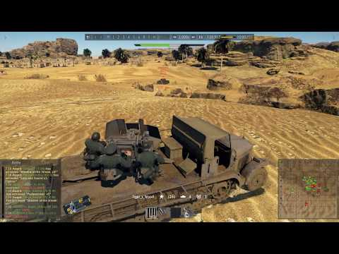 War Thunder: Episode 46 | Second battle of el Alamein (no. 1-7 kills)