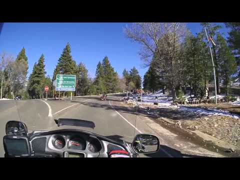 2015:12:01 2 Riding CA18 though Running Springs, CA.