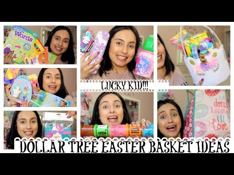 DOLLAR TREE WHAT I GOT MY KID FOR EASTER 2019 | DIY IDEAS | GIRL EASTER BASKET IDEAS