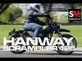 HANWAY Scrambler 125 2017: Prueba Moto neo retro [FULLHD]