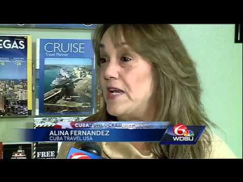 New Orleans travel agent welcomes renewed talks between U.S., Cuba