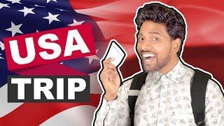 Karan Ki USA Trip | Hindi Comedy | Pakau TV Channel