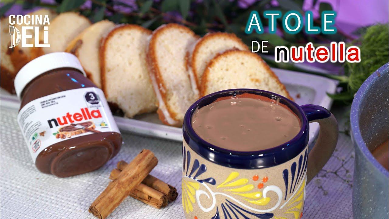 Download ATOLE DE NUTELLA - RECETA SUPER RAPIDA -COCINA DELI