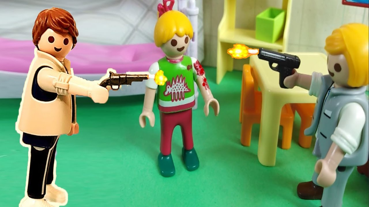ضرب بالمسدس بين بابا و ريان نيللي هتعمل ايه