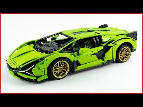 LEGO TECHNIC 42115 Lamborghini Sián FKP 37 Speed Build For Collecrors - Brick Builder