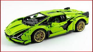 LEGO TECHNIC 42115 Lamborghini Sián FKP 37 Speed Build for Collecrors - Brick Builder
