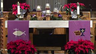 Sunday Worship Service - December 6, 2020 - Second Sunday of Advent