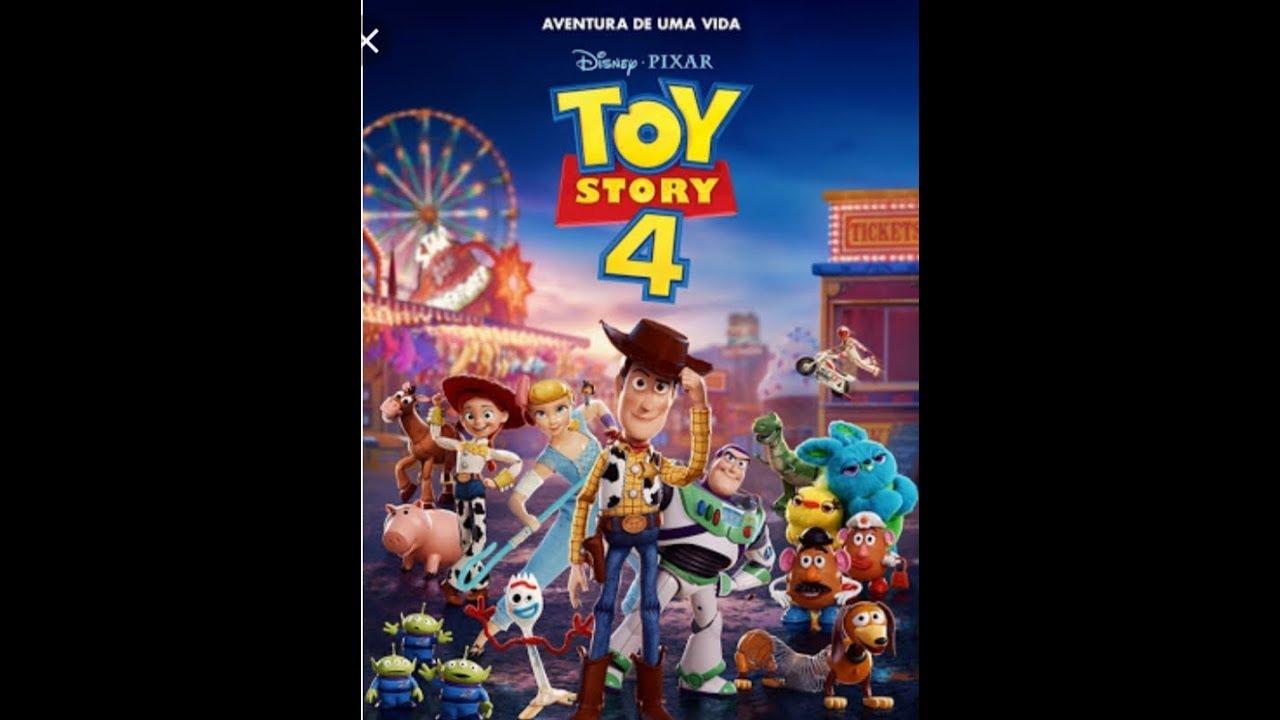 Falando sobre o filme toy story 4