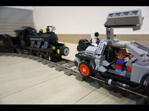 Lego BACK TO THE FUTURE DELOREAN 21103 \u0026 Mindstorms EV3 By 뿡대디