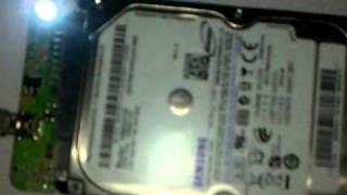 new samsung hard drive beeping