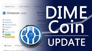 Dimecoin GROWING Fast! Roadmap and New Website | Update #1
