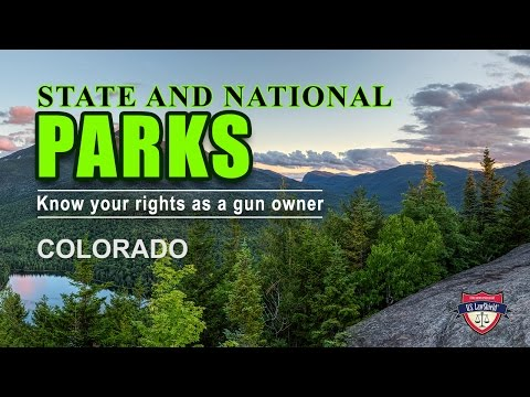 CO State and Federal Parks