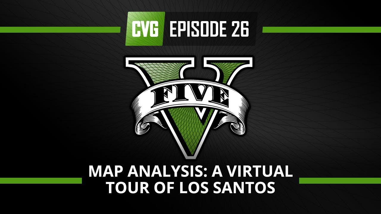 GTA V - GTA 5 o'clock - GTA 5 Map analysis: A virtual tour