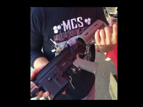 """MCS Showing The Latest Products at Gladiator Paintball Park with the """"Reaper"""""""