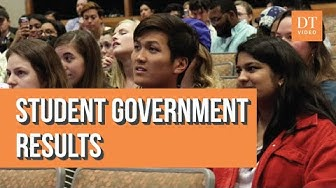 Spring 2020 Student Government Election Results - Reactions