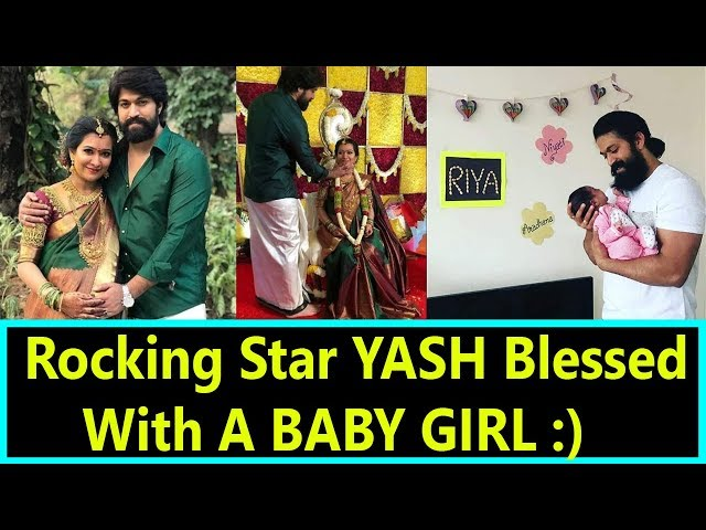 Rocking Star YASH Blessed With A Baby Girl