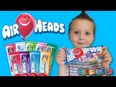 Airheads Candy Challenge for Kids Family Fun Marvel Captain America Hulk Kids Video
