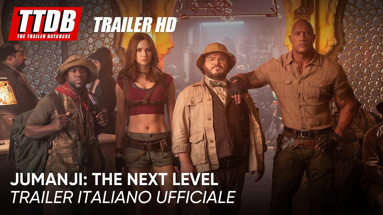 Jumanji: The Next Level  | Trailer Italiano Ufficiale