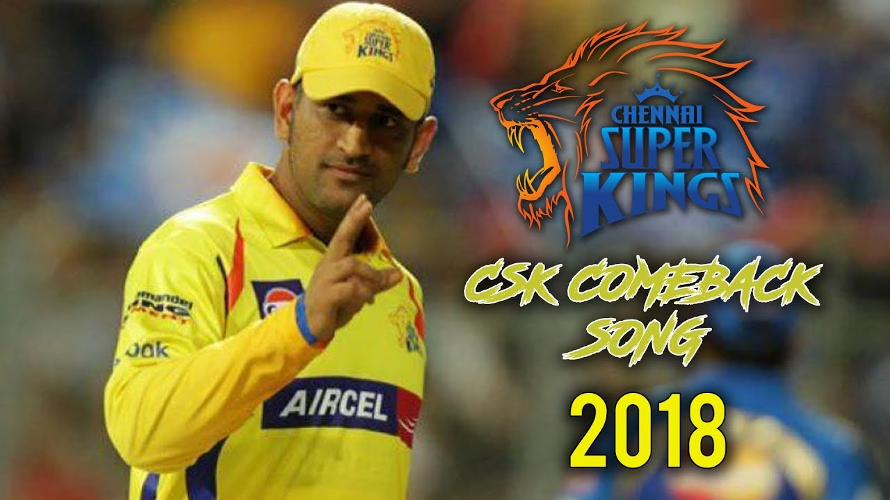 Whistle Podu Song Mp3 Download: Download Lagu Csk Theme Song 2018