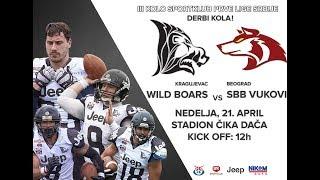 3. kolo Sport Klub Prve Lige Srbije | Wild Boars Kragujevac vs SBB Vukovi Beograd