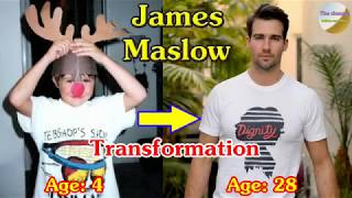 James Maslow transformation from newborn to 28 years old