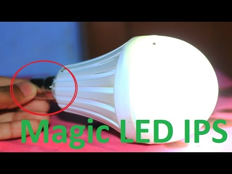 How To Make A Auto Turn On LED Bulb At Home