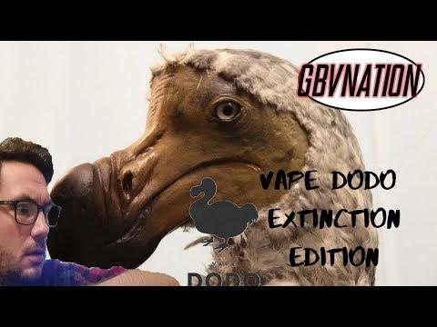 Vape Dodo Extinction Range Apple Blackberry & Mint~GBV Review