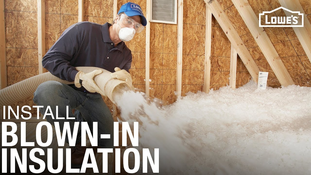 How To Install Blown In Or Loose Fill Insulation Youtube