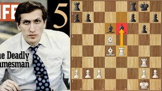 Draw? Too Late for Such Things! | Fischer vs Larsen | (1971) | Game 5