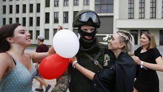 La UE castiga la represión en Bielorrusia con sanciones y una petición de repetición electoral