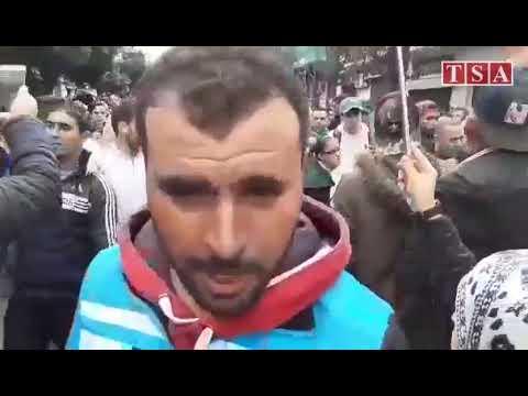 Alger, les manifestants scandent les slogans habituels du hirak