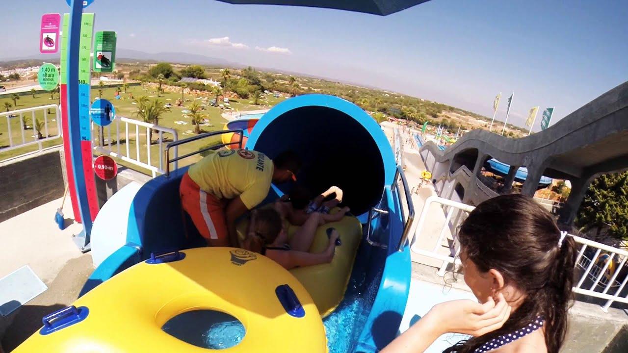 family fun day out at slide  u0026 splash  lagoa  algarve