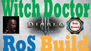 Diablo 3 RoS Witch Doctor Build for Torment Farming(Ice Fishing)