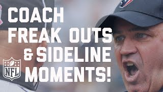 Funniest Coach Freak Outs & Sideline Moments! | NFL