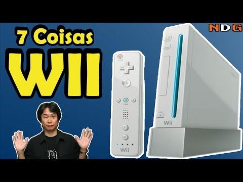 7 coisas sobre o nintendo Wii curiosidades nostalgicas