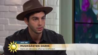 Darin om känslorna efter terrorattacken - Nyhetsmorgon (TV4)