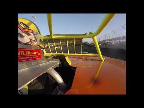 Brandon Hamburg's In-Car Heat Race @ Macon Speedway 6-29-2019