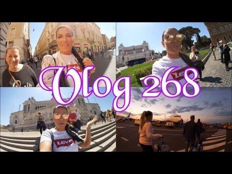 ROM Tag 3 l Shoppen, Essen, Rückflug, Feedback l Vlog 268