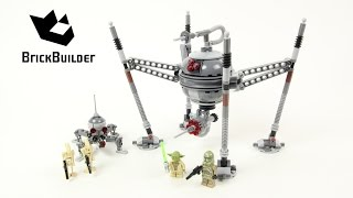 lEGO Star Wars Homing Spider Droid 75142 Speed Build & Review